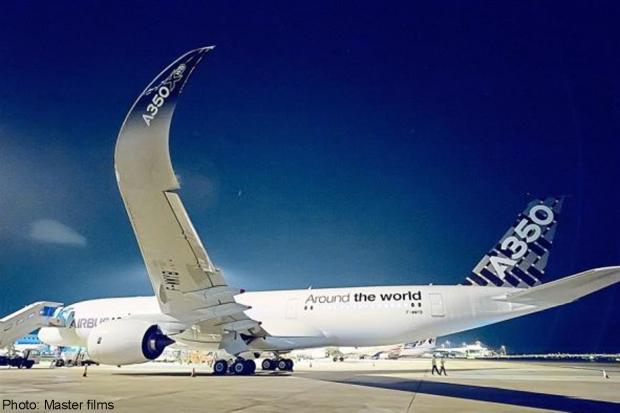 Newest aircraft in the world Airbus A350-900